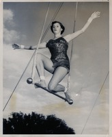 Sue Herndon Balancing on a Trapeze