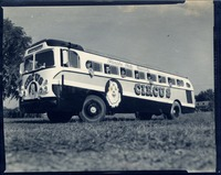 Circus Performers in the Florida State University Circus Bus