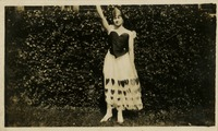 Gladys Martin in Queen of Hearts Costume