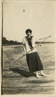 Gladys Martin by the Water