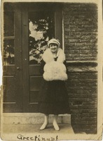Gladys Martin in the Winter