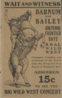 Barnum & Bailey: August 5, 1910 Herald