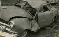 Bill Smith's Crushed Car