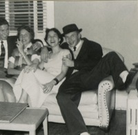 Jack Sweeney and Group Sitting on the Couch at a Party