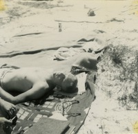 Bill Smith Sunbathing