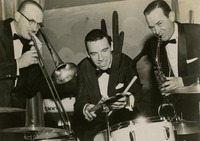 Tommy Dorsey, Buddy Rich, and Jimmy Dorsey Play in Tallahassee