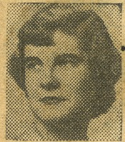 Newspaper Photo of the Girl from Buffalo