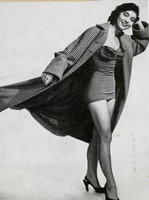 Ann Yates in Sweeping Coat