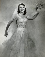 Anna Monroe in a Wedding Gown