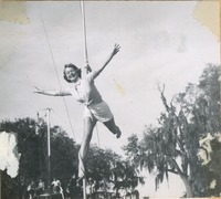 Sarah Hambly Flying in the Circus