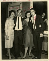 Mary Gallant, John Bell, Jane Bell, and John Taggart at an SAE Weekend Dance