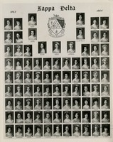 Mary Petway in Kappa Delta, 1963-1964 class photo
