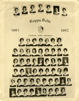 Mary Petway in Kappa Delta 1961-1962 Class Photo