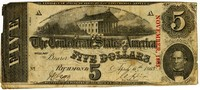 Five Dollar Note, 1863