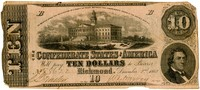 Ten Dollar Note, 1862