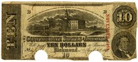 Ten Dollar Note, 1863