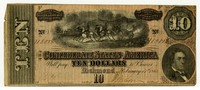 Ten Dollar Note, 1864