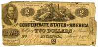 Two Dollar Note, 1862