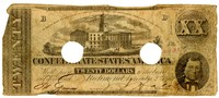Twenty Dollar Note, 1862