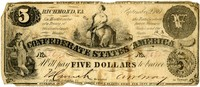 Five Dollar Note, 1861