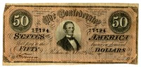 Fifty Dollar Note, 1864