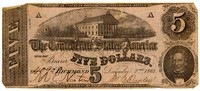 Five Dollar Note, 1862
