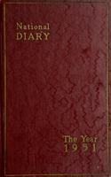 Claude Pepper Diary 1951