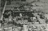 Aerial view of Florida State College for Women buildings