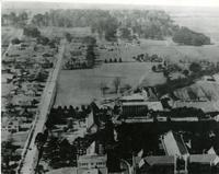 Aerial view of Florida State College for Women