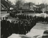 Academic procession for induction of president