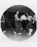Student Union dances. 1954
