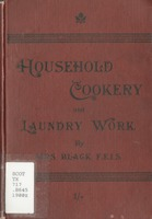 Household cookery and laundry work