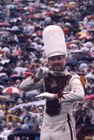 Drum major conducting