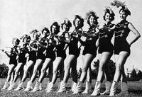 Florida State University majorettes. 1956