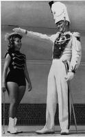 Florida State University Marching Chiefs and Majorettes. 1957