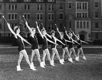Florida State University majorettes. 1954-1955