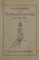 Announcement of Florida Female College for 1905-1906