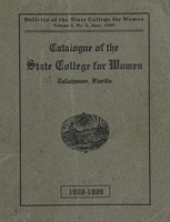 Catalogue of the State College for Women 1908-1909