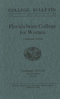 Florida State College for Women: Catalogue 1911-1912; Announcements 1912-1913