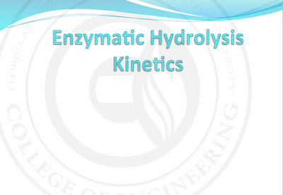 Enzymatic Hydrolysis Kinetics