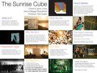 Sunrise Cube - Sharing Light