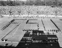 FSU formation of the Marching Chiefs