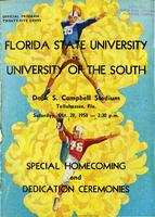 FSU vs. University of the South (10/28/1950)