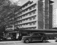 Florida Hall with car