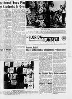 Florida Flambeau, September 21, 1966