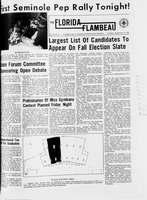 Florida Flambeau, September 15, 1966