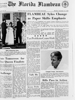 Florida Flambeau, November 14, 1966
