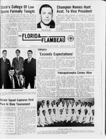 Florida Flambeau, November 01, 1966