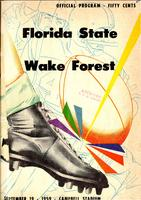 FSU vs Wake Forest (9/19/59)