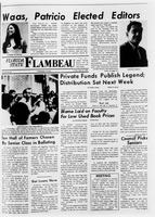 Florida State Flambeau, May 31, 1968